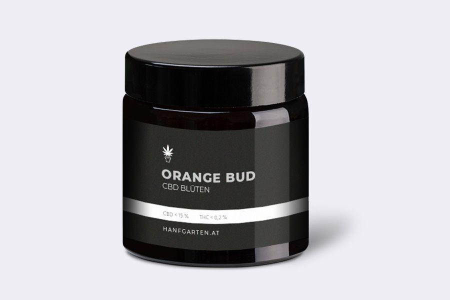 Orange Bud Blueten