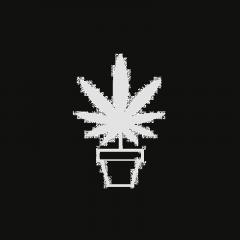 Vierkant Pflanztopf
