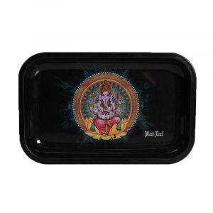 Black Leaf Rolling Tray Ganesha M