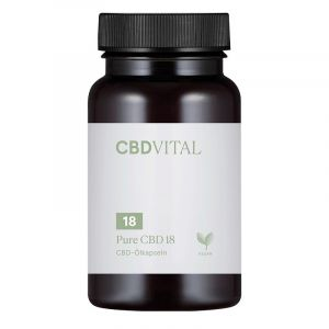 CBD Vital Pure CBD 18 Kapseln 10%