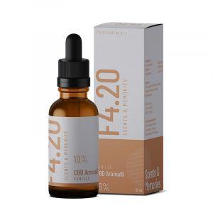 CBD Öl 10% mit Vanille Aroma