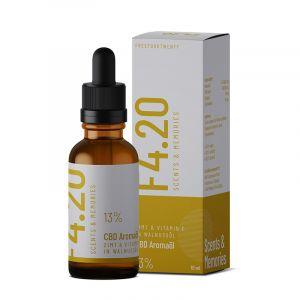 CBD Öl 13% mit Zimt Aroma und Vitamin E