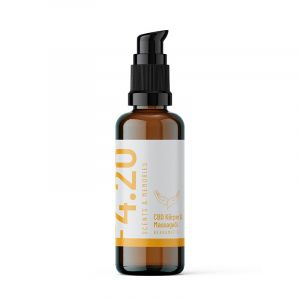 CBD Körper & Massageöl Bergamotte